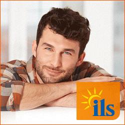 ILS Logo mit Mann