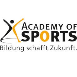 Figur und Logo der Academy of Sports
