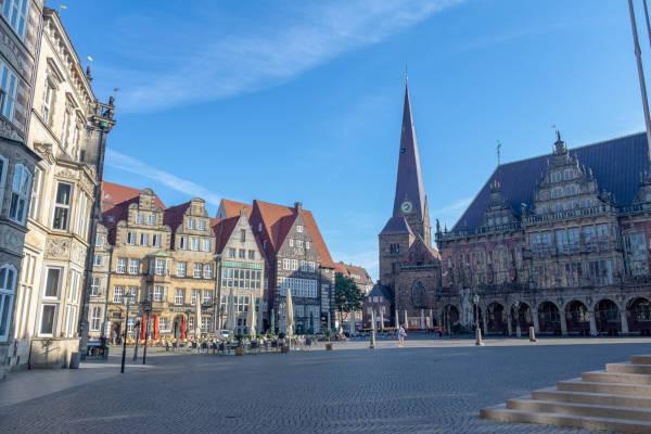 Bremen Altstadt und historisches Zentrum